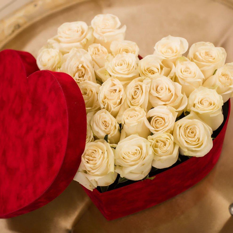 слоистое картинки белых роз сердечком отличие