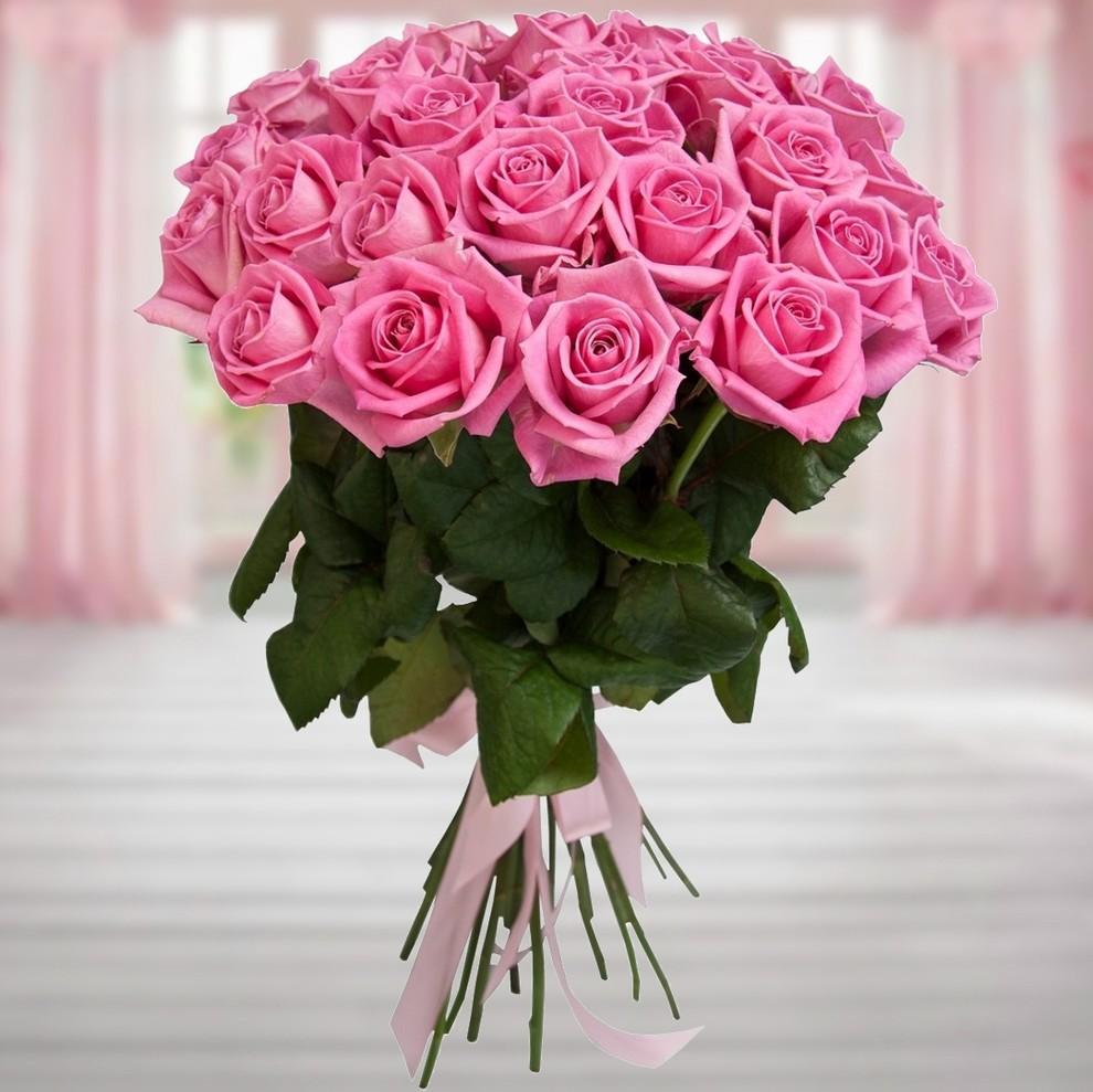 следует отметить картинки с букетами розовых роз что этих